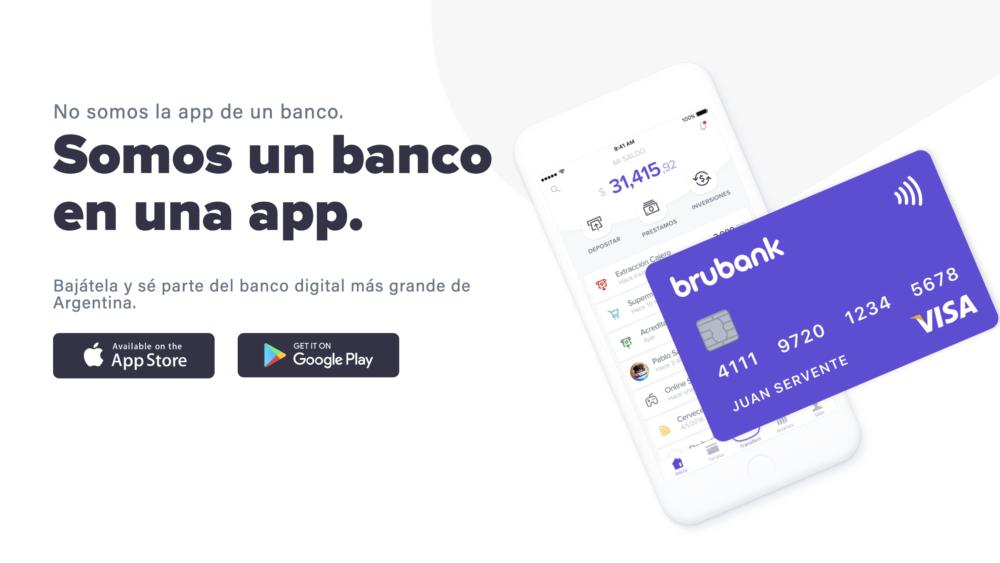 Brubank 1000x563 - Brubank, el banco digital argentino, desembarco en tierras chilenas
